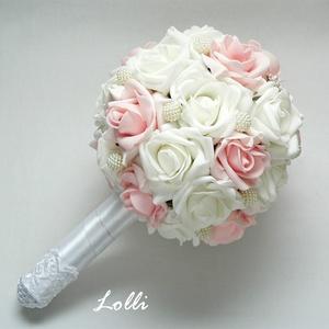 PearlDream menyasszonyi csokor (Lolli) - Meska.hu
