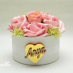 CukiMami Virágbox - Rózsadoboz, virágdoboz (Lolli) - Meska.hu
