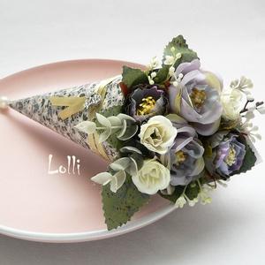 Mini Ajándékcsokor - GardenParty (Lolli) - Meska.hu