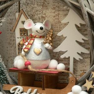Karácsonyi mese koszorú (Lolli) - Meska.hu
