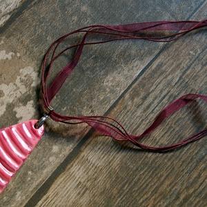 Rózsaszín álom nyaklánc Akció! 2 db áráért 3 db - ékszer - nyaklánc - medálos nyaklánc - Meska.hu