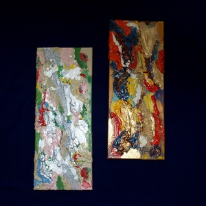Tavasz-ősz festmény 3 D kép - otthon & lakás - dekoráció - kép & falikép - Meska.hu