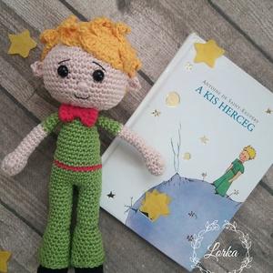 Kis Herceg figura, Gyerek & játék, Játék, Baba, babaház, Kedves kis emlék lehet annak aki szerette gyerekkorában vagy éppen annak a gyerkőcnek aki pont most ..., Meska
