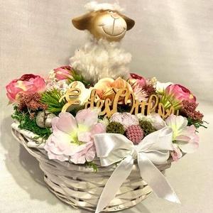 Tavaszi asztal dísz, dekoráció, Otthon & Lakás, Dekoráció, Asztaldísz, Mindenmás, Meska