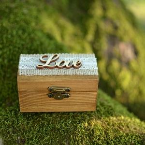 Gyűrűtartó doboz esküvőre, eljegyzésre (Lovelydecor16) - Meska.hu