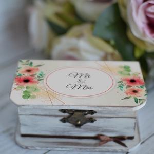 ÚJ!!! 2019/2020-as gyűrűtartó doboz esküvőre, eljegyzésre (Lovelydecor16) - Meska.hu