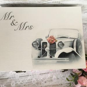 Lánybúcsú/esküvői ajándék doboz - A házasság nélkülözhetetlen kellékei - 12 fakkos, Esküvő, Doboz, Emlék & Ajándék, A házasság nélkülözhetetlen kellékei doboz igazán szuper ajándék lehet lánybúcsúra, vagy esküvőre eg..., Meska