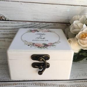 ÚJ!!! 2020-as gyűrűtartó doboz esküvőre, eljegyzésre - gyűrűpárna (Lovelydecor16) - Meska.hu