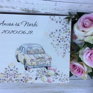 Lánybúcsú/esküvői ajándék doboz - A házasság nélkülözhetetlen kellékei - 9 fakkos, Esküvő, Doboz, Emlék & Ajándék, A házasság nélkülözhetetlen kellékei doboz igazán szuper ajándék lehet lánybúcsúra, vagy esküvőre eg..., Meska
