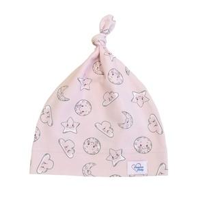 Rózsaszín mosoly baba sapka, Ruha & Divat, Babaruha & Gyerekruha, Babasapka, Varrás, Rózsaszín mosoly baba sapka\n\nA baba sapka egyrétegű, puha, rugalmas pamutjersey anyagból készült. \nT..., Meska