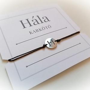 HÁLA karkötő - sötétbarna (unisex) - Meska.hu