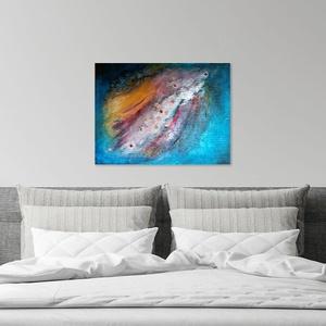 Dream - Modern expresszionista festmény, Művészet, Festmény, Akril, Festészet, Dream\nEgyedi akril festmény, expresszionista stílusban\nMérete: 60x45 cm\nTechnika: akril, struktúrpas..., Meska