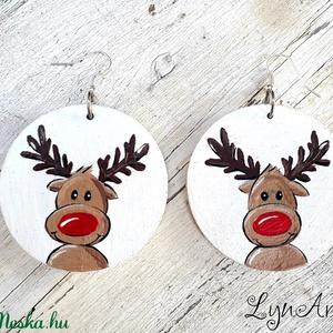 Rudolph - fülbevaló  - Meska.hu