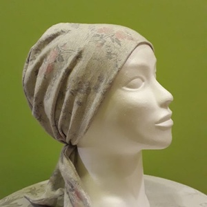 Fejkendő - kemoterápiás kendő, Táska, Divat & Szépség, Ruha, divat, Kendő, Varrás, Sajnos saját tapasztalat, hogy a piacon nem igazán lehet csinos, praktikus fejkendőt, kemoterápiás k..., Meska