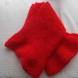 Az igazi piros - moher sál, Táska, Divat & Szépség, Sál, sapka, kesztyű, Ruha, divat, Kötés, Könnyű, puha, igazi piros moher fonalból kötöttem ezt a sálait. Végein enyhe fodorral.\n\n94 cm hosszú..., Meska
