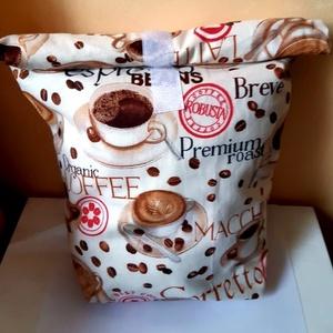 Uzsonnás táska (a kávé szerelmeseinek)  (madebyKriKa) - Meska.hu
