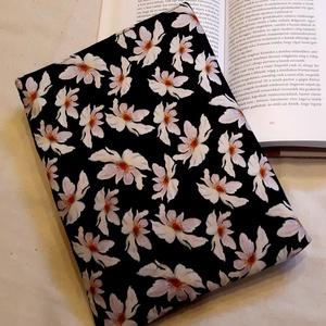 Ölelhető könyvtok (virágos1), NoWaste, Otthon & lakás, Táska, Divat & Szépség, Te is könyvmoly vagy és félted a könyveidet? Neked is fáj a szíved, mikor cipekedés során a könyvbor..., Meska
