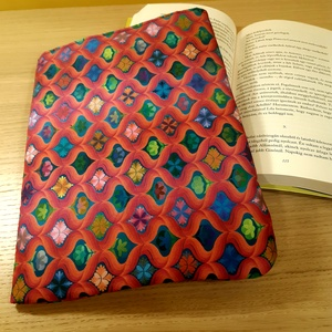Ölelhető könyvtok (rózsaszín) - otthon & lakás - papír írószer - Meska.hu