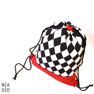 Pamutvászon hátizsák - sportoláshoz, fesztiválra, városba, mindenhova, Táska, Divat & Szépség, Táska, Hátizsák, Varrás, Pamutvászon anyagból készült hátitáska.\nBélése szintén pamutvászonból készült.\n\nMérete: kb. 33x42 cm..., Meska