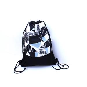 Pamutvászon hátizsák és kézitáska egyben, Táska, Divat & Szépség, Táska, Hátizsák, Varrás, Kívül-belül pamutvászon táska, merevített alsó résszel.\nKézi, és hátitáskaként egyaránt használható...., Meska