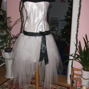 Menyasszonyi, alkalmi ruha, düssesz, tüllös, egyedi, Alkalmi ruha & Estélyi ruha, Női ruha, Ruha & Divat, Varrás, Nagyon szép egyedi tervezésű ruhát kínálok menyasszonyi, alkalmi, báli ruhának. Anyaga düssesz, tüll..., Meska