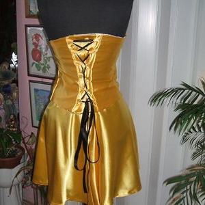 Alkalmi, báli, táncruha, selyem,  - esküvő - Meska.hu