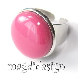 Keretbe zárt mályva üvegékszer gyűrű, Ékszer, Gyűrű, Kerek gyűrű, Ékszerkészítés, Üvegművészet, AKCIÓ! HÁRMAT FIZET NÉGYET VIHET!! HÁROM ÉKSZERSZETT VÁSÁRLÁSA UTÁN EGY SZETTET AJÁNDÉKBA KÜLDÖK.  M..., Meska