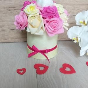 Valentin napi virágbox  (MagicFlower) - Meska.hu