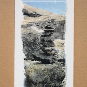 Fatábla fotóval, Otthon & Lakás, Dekoráció, Kép & Falikép, Decoupage, transzfer és szalvétatechnika, 31 x 16 x 0,6 cm-es préselt fatábla fotóval az elején. Különleges transzfer technikával készült rá a..., Meska