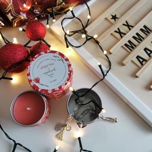 Téli illatok illatgyertya szett - 1 kicsi Gingerbread és 1 nagy Mulled Wine, Otthon & Lakás, Dekoráció, Gyertya & Gyertyatartó, Gyertya-, mécseskészítés, Varázsold otthonodba a téli esték illatát ezzel az egyedi, kézzel készített illatgyertya szettel. Il..., Meska