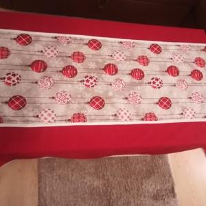 Asztalterítő asztalközéppel, nem csak karácsonyi mintával (magnoliakezmu) - Meska.hu