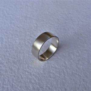 Selyemfényű karikagyűrű 2, Esküvő, Ékszer, Karikagyűrű, Ékszerkészítés, Ötvös, Meska