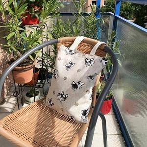 Francia Bulldogos Szatyor (MaKuRa) - Meska.hu