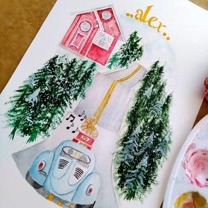 Neves kép gyerekeknek, felnőtteknek - otthon & lakás - dekoráció - betű & név - Meska.hu