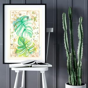 Művészi akvarell nyomat - Közeledés, Művészet, Művészi nyomat, Művészi akvarell nyomat, artprint, mely kiváló minőségű akvarell kender bio papírra készül giclée te..., Meska