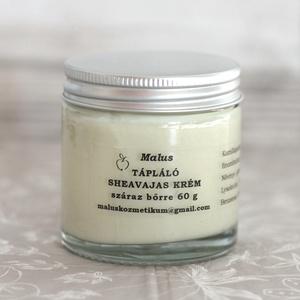 Tápláló sheavajas (kéz)krém száraz bőrre 60 g , Szépségápolás, Testápolás, Kéz- és lábápolás, Kozmetikum készítés, Kiváló bőrápoló, gyorsan felszívódik, KÉZKRÉMNEK ideális, de bárhová kenhető, ahol száraz, kirepedez..., Meska