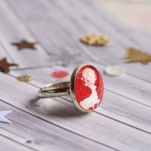 Reindeer gyűrű (malyvacukor) - Meska.hu