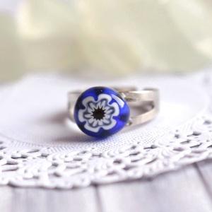 Boglárka gyűrű (malyvacukor) - Meska.hu