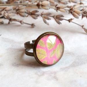 Leaves gyűrű (malyvacukor) - Meska.hu