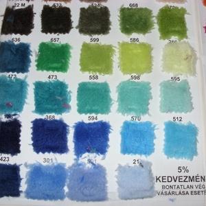 42 színben finom pihe-puha meleg bébi-soft 170 - 175 cm széles 1.890.-Ft.- - textil - bársony - Meska.hu