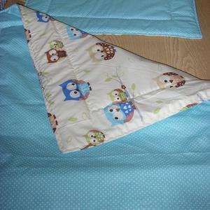 Ajándékba is Bébi 1 ágynemű szett - design textilekből, Gyerek & játék, Baba-mama kellék, Gyerekszoba, Falvédő, takaró, Varrás, Szeretettel nektek\n\n100% pamut választható anyagból\ntakaró és párna szett\n\nAz egyedi megrendeléseket..., Meska