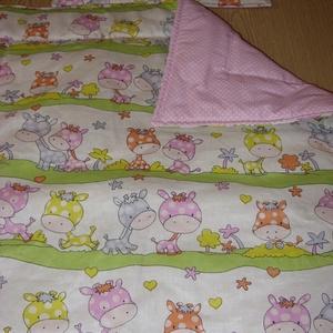 Bébi 2 méretű baba ágynemű szett design textilekből csajos és fiús, Otthon & Lakás, Szett kiságyba, Lakástextil, Varrás, Meska