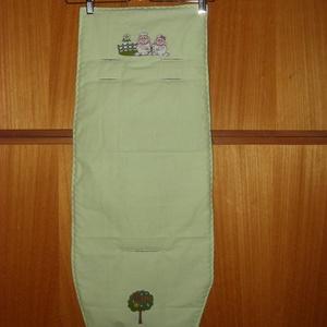 3 db-os szett Pamut betét  - méretre . szalagos karfa takaró és vállpárna pár - otthon & lakás - lakástextil - szett kiságyba - Meska.hu