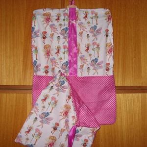 2 db-os Tündéres és sok más ovis ruha- és tornazsák szett   100% design pamut (MamaMariko) - Meska.hu