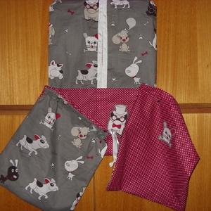 3 db-os ovis szett- ruha, torna, és tisztasági zsák - csajos és fiús 100% pamut (MamaMariko) - Meska.hu