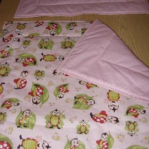 Ajándékba is - Bébi 1 -  baba katicás baba ágynemű szett design textilekből, Otthon & Lakás, Szett kiságyba, Lakástextil, Varrás, Meska