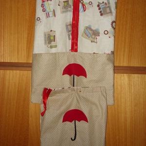 Ovis ruha zsák  - patchwork ovis jellel és névvel is 100% pamut design textil, Egyéb, Gyerek & játék, Baba-mama kellék, Varrás, Mindenmás, Design ovis ruhazsák\n\n100% pamut\n\nRuha zsák: vállfával és külön akasztóval is használható. Elején va..., Meska