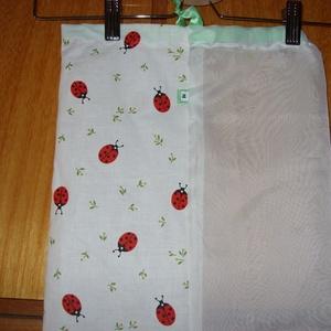 Gyümölcsös zsák, újra használható, mosható Zöldülj Te is, Táska & Tok, Zöldség/Gyümölcs zsák, Bevásárlás & Shopper táska, Varrás, Meska