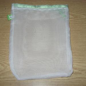 Színkódos áttetsző szütyő,zsák 30 x  25 cm, újra használható, mosható Zöldülj Te is - táska & tok - bevásárlás & shopper táska - zöldség/gyümölcs zsák - Meska.hu