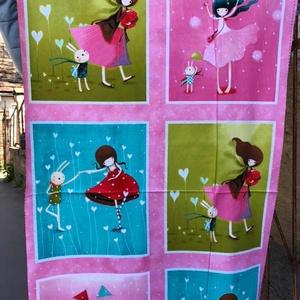 GORJUS  babás- kiscsajos 6 blokkos panel, SANTORO - LONDON, Textil, Vászon, Mindenmás, Varrás, Textil, Jó minőségű termék -\n\nTextil - akár - patchwork - anyag\n\nGORJUS BABÁS - KIS CSAJOS BLOKKOK\n\nSANTORO ..., Meska